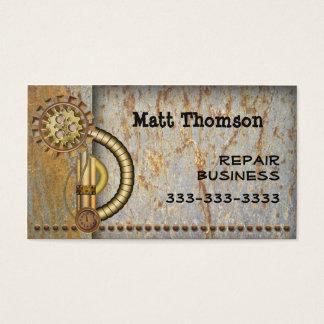 Steampunk Vintage Business Card
