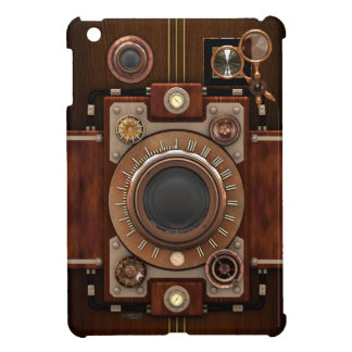 Steampunk Vintage Camera iPad Mini Cover