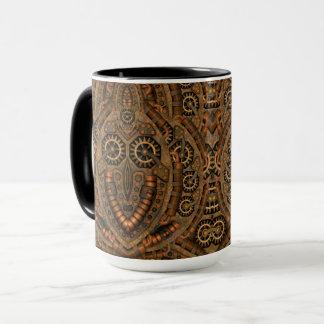 Steampunk Vintage Kaleidoscope  Combo Mug