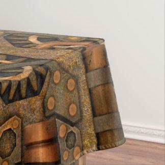 Steampunk   Vintage Kaleidoscope Cotton Tablecloth