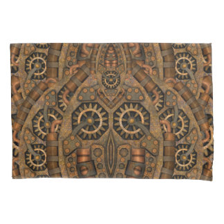 Steampunk Vintage Kaleidoscope    Pillowcases