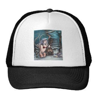 steampunk vintage mermaid where you left me cap