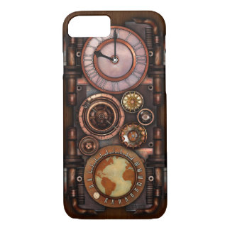 Steampunk Vintage Timepiece #1 iPhone 8/7 Case