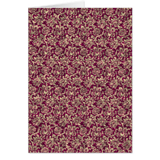 Steampunk Wallpaper Red Card