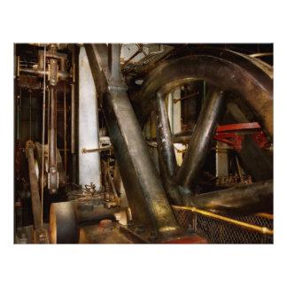 Steampunk - Wheels of progress 21.5 Cm X 28 Cm Flyer