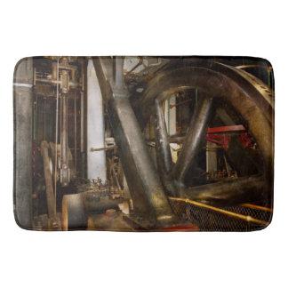 Steampunk - Wheels of progress Bath Mat