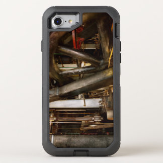 Steampunk - Wheels of progress OtterBox Defender iPhone 8/7 Case