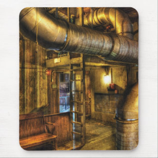SteamPunk - Where the pipes go Mouse Pad