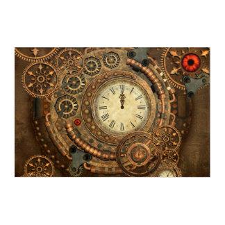 Steampunk, wonderful clockwork acrylic wall art