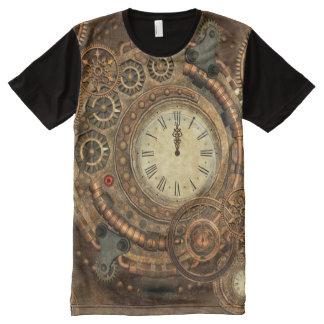 Steampunk, wonderful clockwork All-Over print T-Shirt