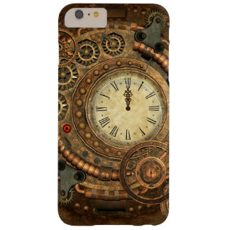 Steampunk, wonderful clockwork barely there iPhone 6 plus case