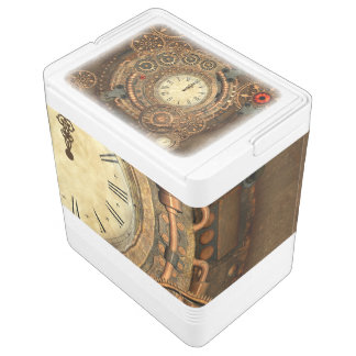 Steampunk, wonderful clockwork cooler
