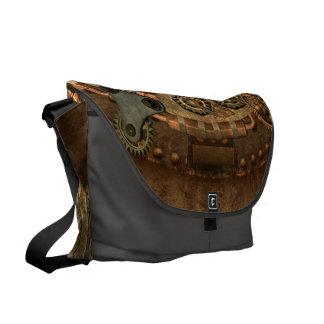 Steampunk, wonderful clockwork courier bags