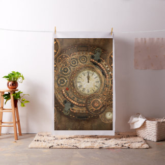Steampunk, wonderful clockwork fabric