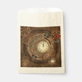 Steampunk, wonderful clockwork favour bag