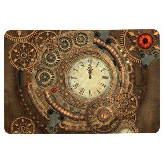 Steampunk, wonderful clockwork floor mat