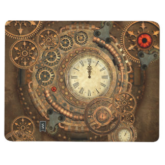 Steampunk, wonderful clockwork journal