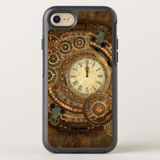 Steampunk, wonderful clockwork OtterBox symmetry iPhone 8/7 case