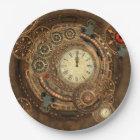 Steampunk, wonderful clockwork paper plate
