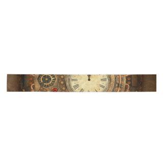 Steampunk, wonderful clockwork satin ribbon