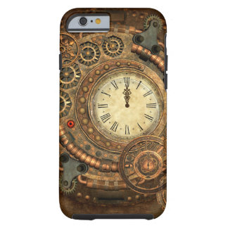 Steampunk, wonderful clockwork tough iPhone 6 case