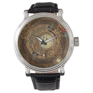 Steampunk, wonderful clockwork watch