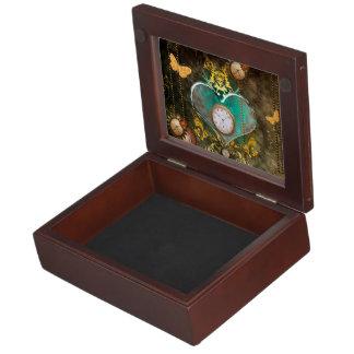 Steampunk, wonderful heart keepsake boxes