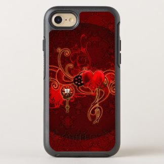 Steampunk, wunderful heart OtterBox symmetry iPhone 8/7 case