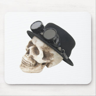 SteamPunkSkull073109 Mouse Pad