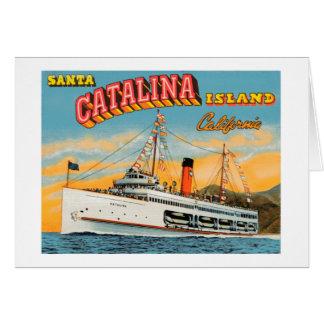 Steamship Catalina Greeting Card