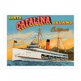 Steamship Catalina Post Card