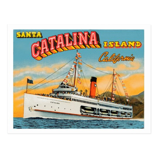 Steamship Catalina Post Card