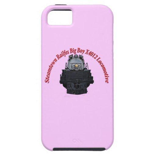 Steamtown Railfest Text Big Boy X4012 Case For iPhone 5/5S