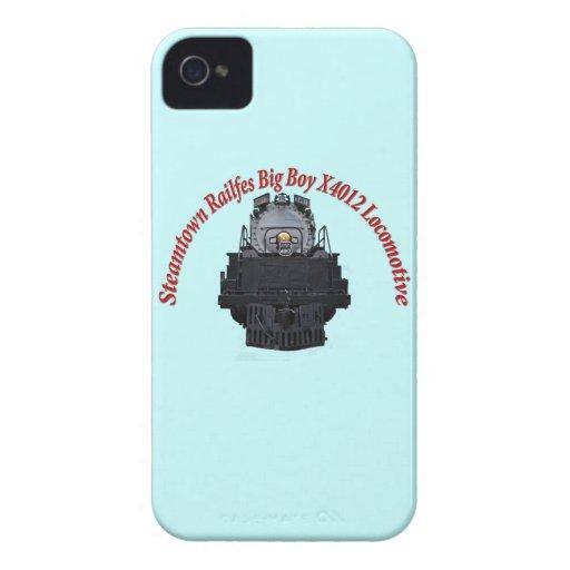 Steamtown Railfest Text Big Boy X4012 iPhone 4 Covers