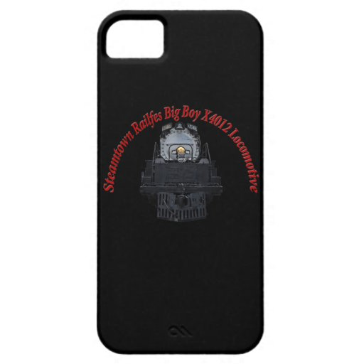 Steamtown Railfest Text Big Boy X4012 Cover For iPhone 5/5S