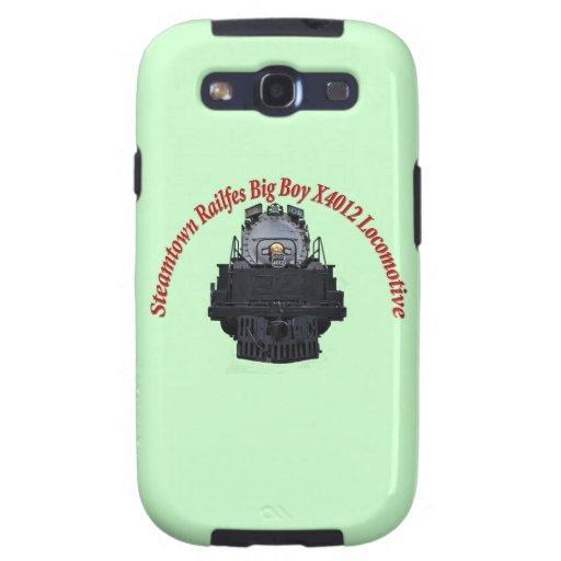Steamtown Railfest Text Big Boy X4012 Galaxy S3 Covers
