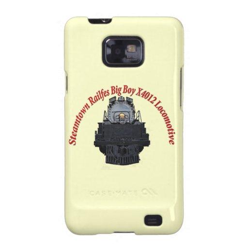 Steamtown Railfest Text Big Boy X4012 Samsung Galaxy S2 Case