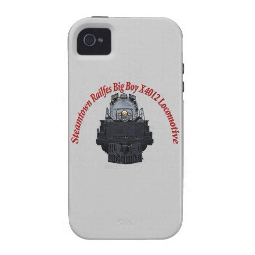 Steamtown Railfest Text Big Boy X4012 iPhone 4/4S Case