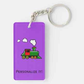 SteamTrain Key Ring