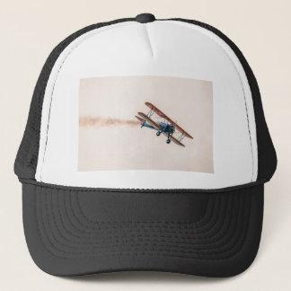 Stearman Pt-13d Double Decker Aircraft Fly Trucker Hat