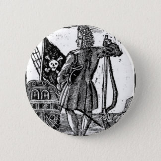 Stede Bonnet Pirate Portrait 6 Cm Round Badge