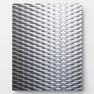 steel #16 plaque