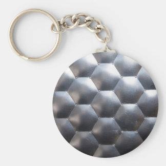 steel #3 key ring