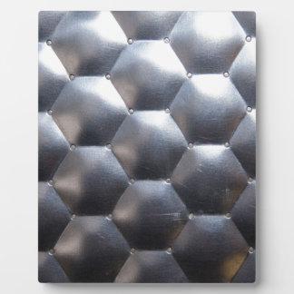 steel #3 plaque
