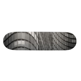 Steel and glass curtain wall of modern 21.6 cm skateboard deck