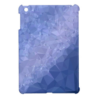 Steel Blue Abstract Low Polygon Background Cover For The iPad Mini