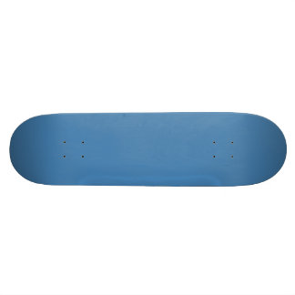 STEEL BLUE (solid color) ~ 18.1 Cm Old School Skateboard Deck