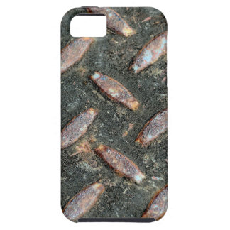Steel checker plate.jpg case for the iPhone 5