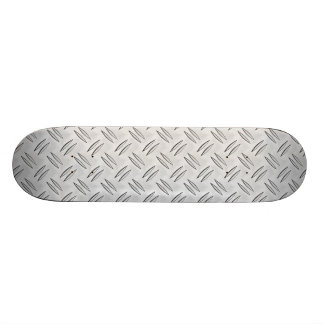 Steel checker plate skate board
