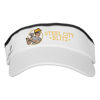 Steel City Blitz Athletic Visor